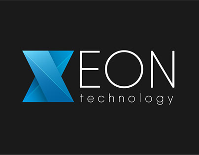 XEON Technology Logo Design