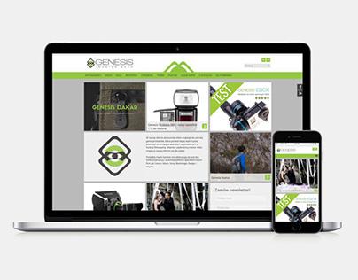 Strona internetowa Genesis
