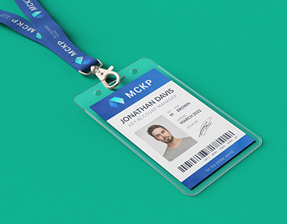 Lanyard / ID Card Holder MockUp