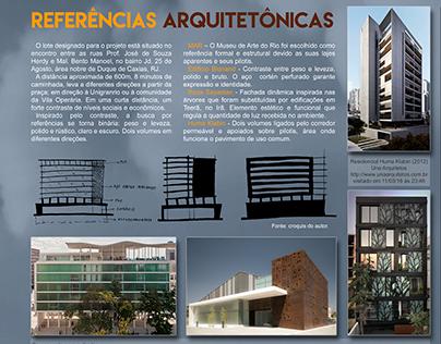 Referências Arquitetônicas