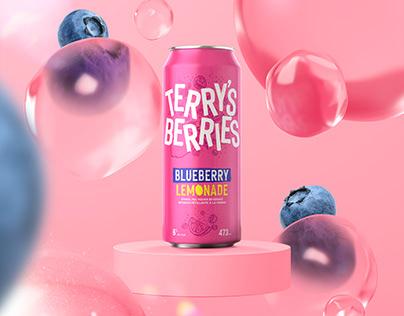 Terry's Berries Blueberry Lemonade