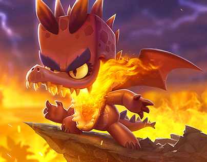 Dragon Donna Loading Screen