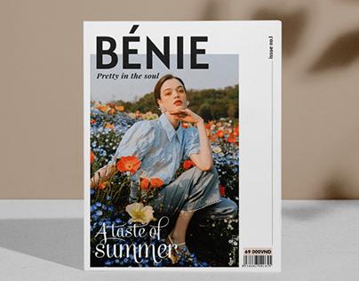 BÉNIE MAGAZINE | Layout Design