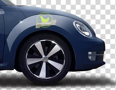 Vehicle - Mockup (Art work) Graphic Design