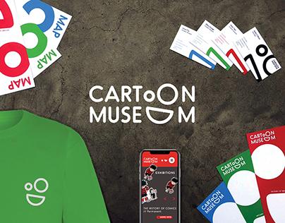 Cartoon Museum – Rebrand Concept