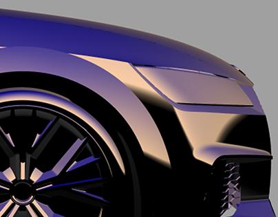 Alias Model | Audi TTS Coupe (2015)