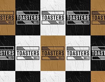 Toasters Deli Rebrand
