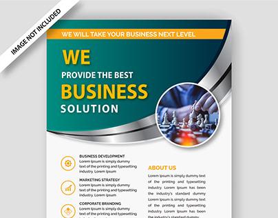Editable Business Flyer