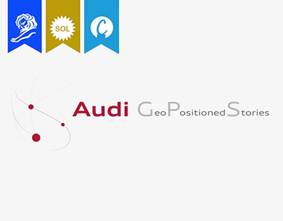 """Audi CRM - """"GeoPositioned Stories"""""""