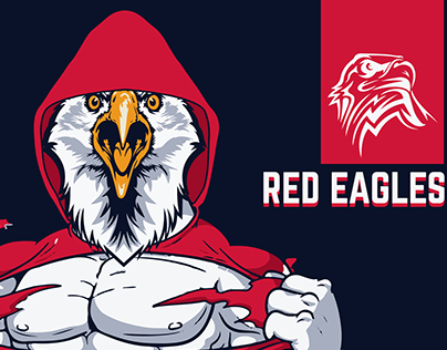 RED EAGLES POSTER