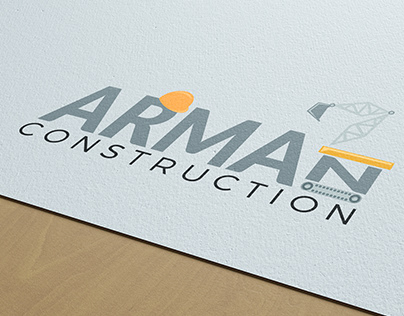 Arman Construction Logo