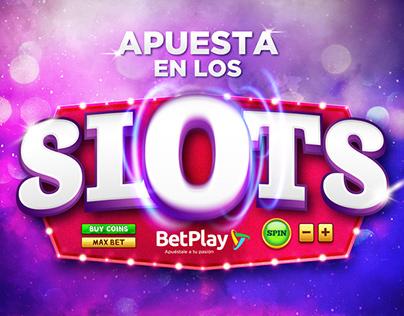 Key Visual Campaña Digital Slots BetPlay