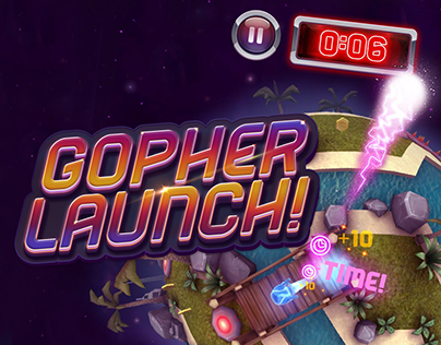 Gopher Launch Mobile Game
