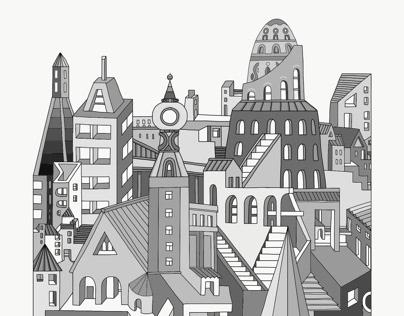 Grey town