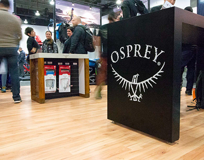 Osprey Packs Booth