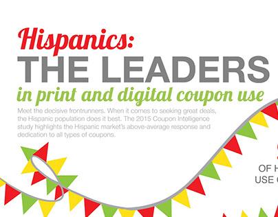 Hispanic Coupon Use - Infographic