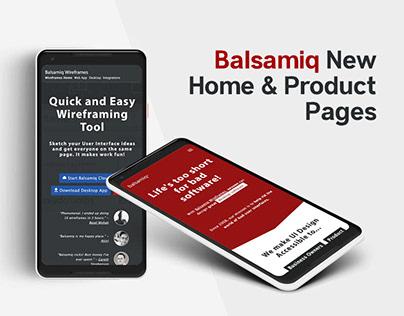 balsamiq.com — Design and Front-End Development