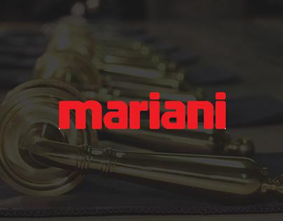 Mariani - sito web