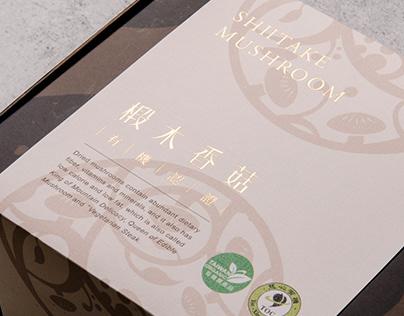 SHIITAK MUSHROOM 椴木香菇 包裝設計