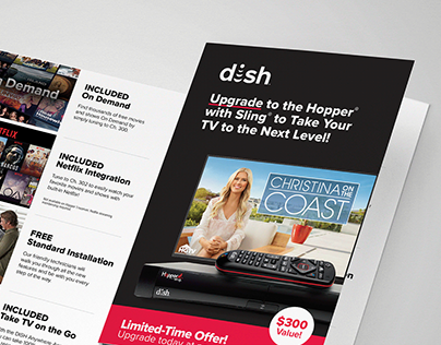 Direct mail DISH offers