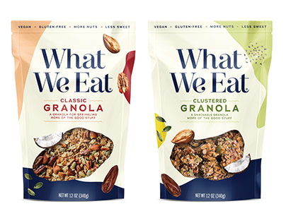 WHAT WE EAT GRANOLA