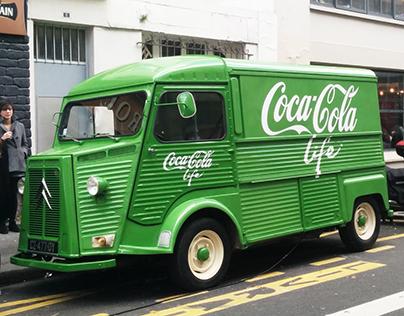 Coca-Cola Life - Opé Sampling