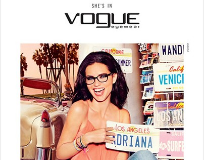 Global Campaign SS16  Vogue Eyewear