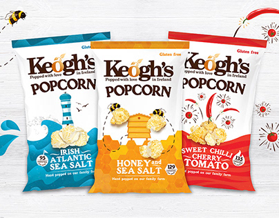 Keoghs Popcorn Packaging