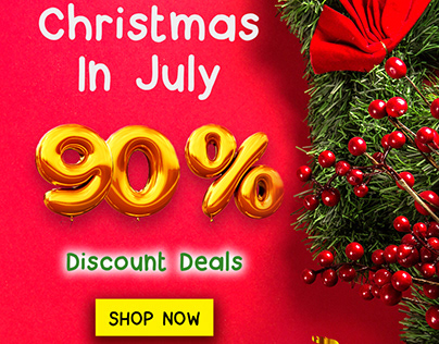 Christmas in July Discount Deals