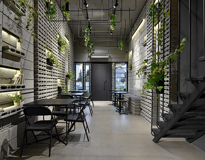 Ivy cafe in Mazandaran, Iran designed by Neda Mirani
