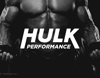 Hulk Performance   Brand Identity