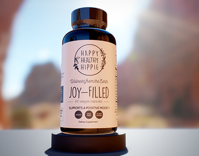 Happy Healthy Hippie's Joy Filled Product Images