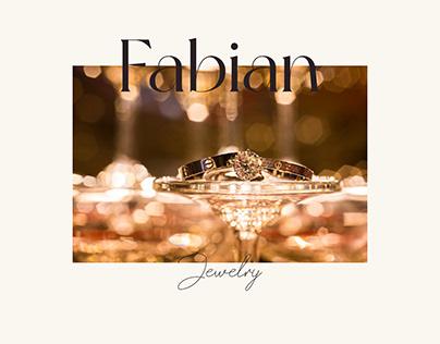 Fabian jewerly - website design