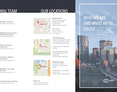 Trifold Welcome Brochure
