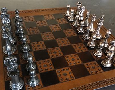 Cast Iron vs. Bronze Chess Set