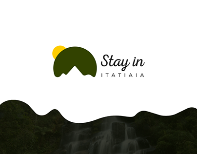 Stay In Itatiaia - Logo | Identidade Visual | Layout