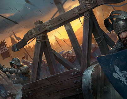 Thronebreaker illustrations