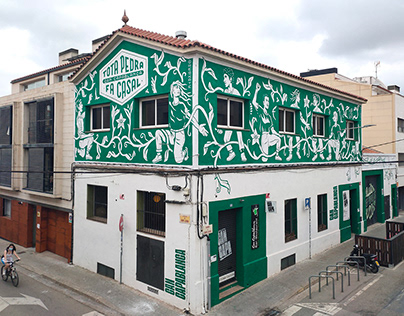 """Tota pedra"" Wall (Sabadell, Catalonia)"
