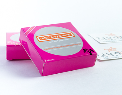 Condom Box Packaging for Temporary Tattoos