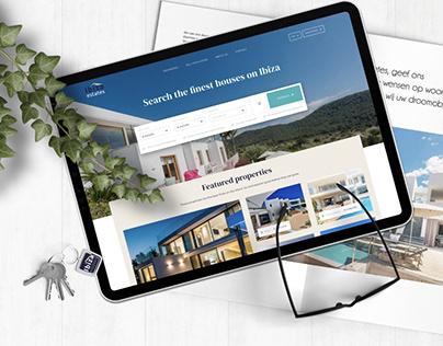 Ibiza Estates - redesign for Ibiza real estate broker