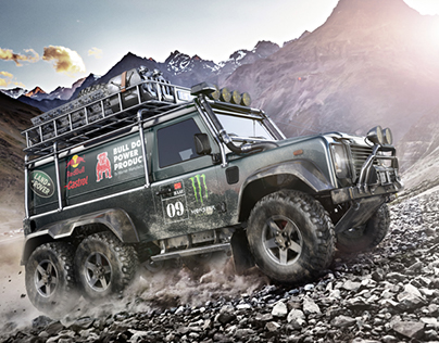 Land Rover/Defender 6X6_CGI