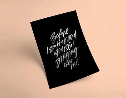 The Worship Project - 365 Type + Lettering Posters