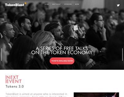 TokenBlast Website Redesigned