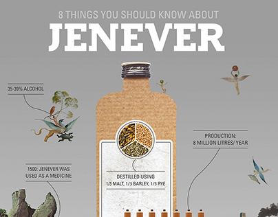 Infographic Jenever