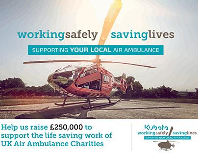 Kubota Air Ambulance Campaign