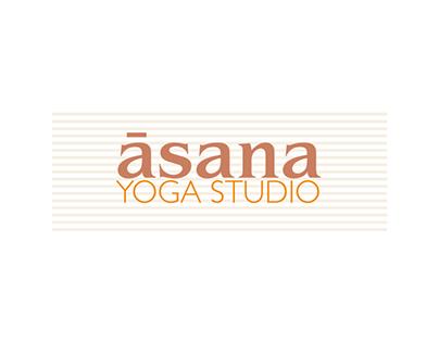 āsana yoga studio | Branding & Web Design