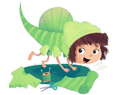 Dinosaur Dress Up - A Animal Alphabet