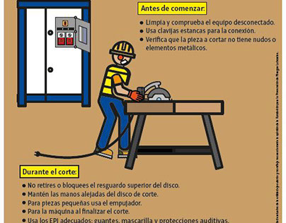 Carteles de seguridad laboral