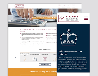 Harry-Fisher-Accounting-Services-Website-Branding