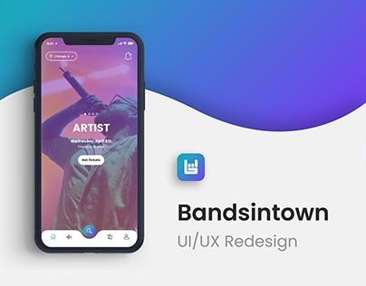 Bandsintown Mobile App Redesign